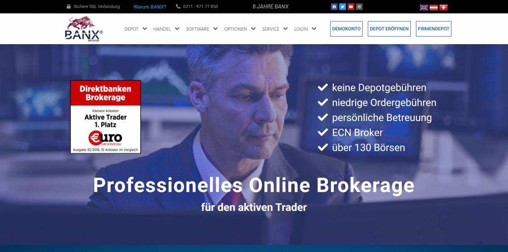 BANX-Depot: Kosten, Gebühren & Leistungen