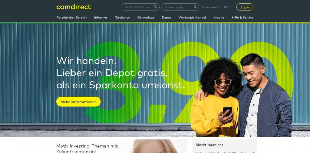 comdirect-Depot: Kosten, Gebühren & Leistungen