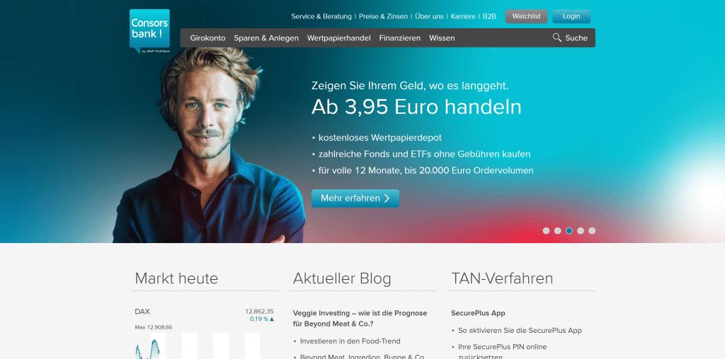 Consorsbank-Depot: Kosten, Gebühren & Leistungen