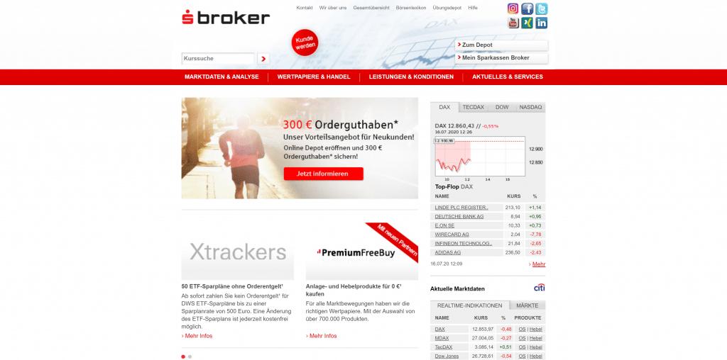 S Broker-Depot: Kosten, Gebühren & Leistungen