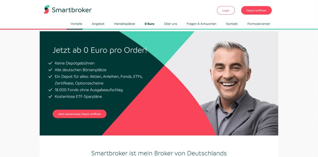 Smartbroker-Depot: Kosten, Gebühren & Leistungen