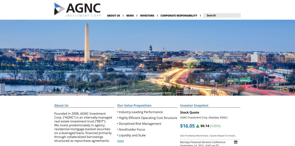 AGNC Investment Corp.: Monatliche Dividende